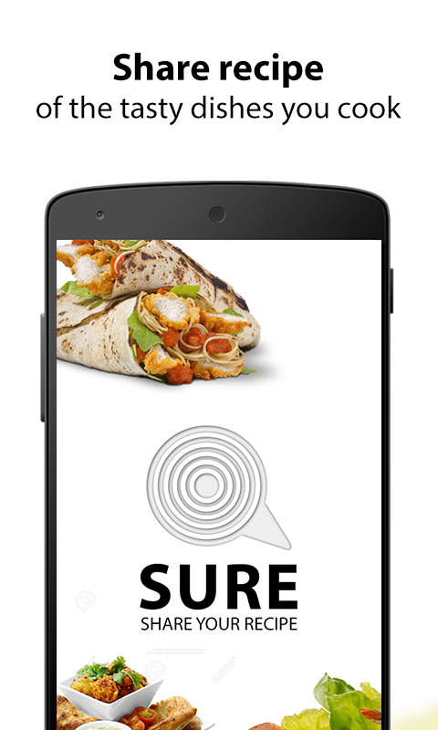 SURE: Share Your Recipe Dishes- screenshot