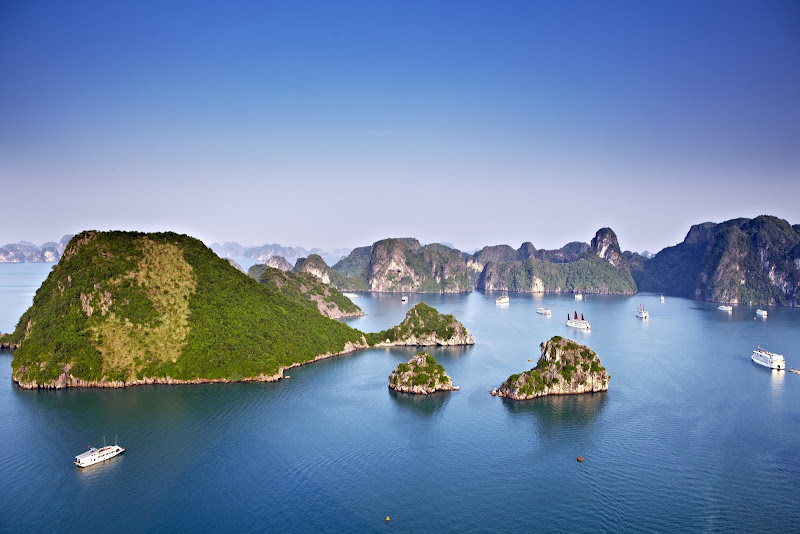 Halong Bay in Northern Vietnam. From The Big Trip: Your Ultimate Guide to Gap Years and Overseas Adventures