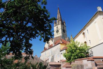 Evangelische Stadtpfarrkirche im Sibiu