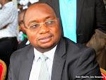 Le ministre de la Santé publique, Félix Kabange Numbi à Kinshasa, le 12/05/2015 lors de la célébration de la journée de l'infirmier. Radio Okapi/Ph. John Bompengo