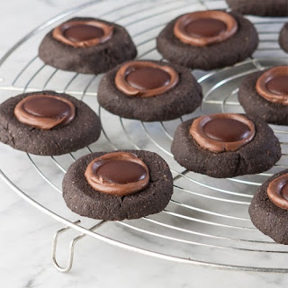 Chocolate Nutella Thumbprint Things