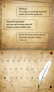 TouchPal Calligraphy Theme screenshot 0