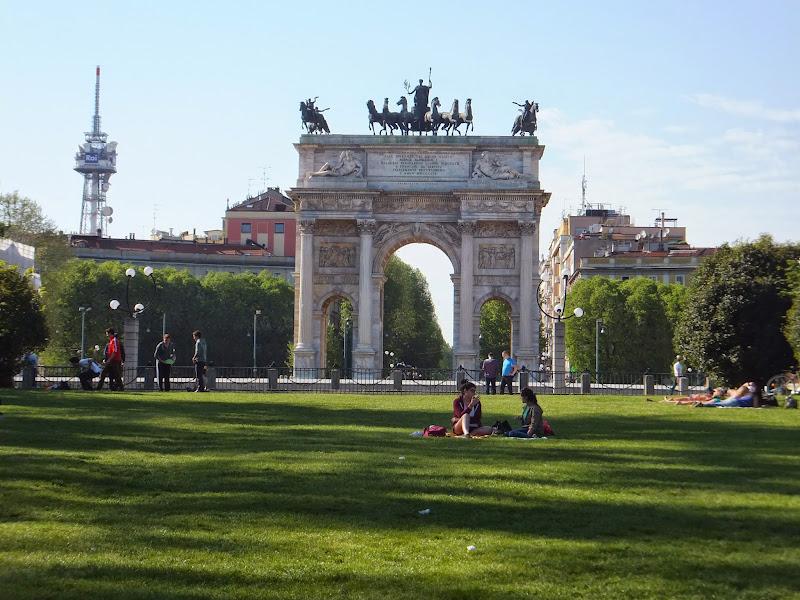 Milán, Milano, Italia, Parco Sempione, Elisa N, Blog de Viajes