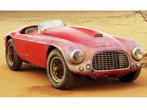 Abandoned Ferrari 166 Inter Spyder
