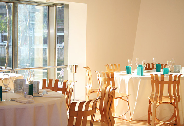 Restaurante Nerúa. Nuevo espacio en el Museo Guggenheim Bilbao