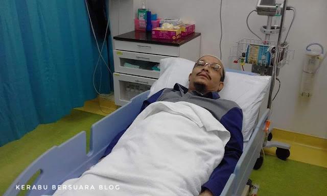 Pagi ini Dato Ustaz Kazim telah dikejarkan ke hospital