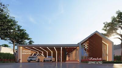 แบบบ้านชั้นเดียว Pool Villa เจ้าของอาคาร คุณกฤษณะ ภูแป้ง สถานที่ก่อสร้าง อ.สันทราย จ.เชียงใหม่