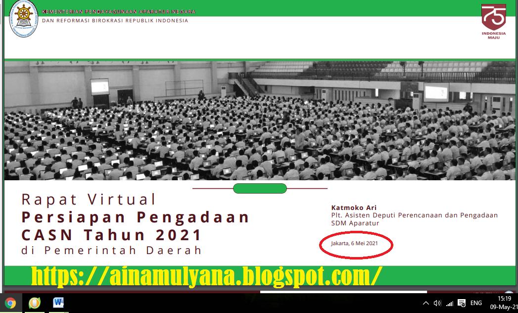 Jadwal Lengkap Pendaftaran dan Seleksi PPPK dan CPNS Tahun 202
