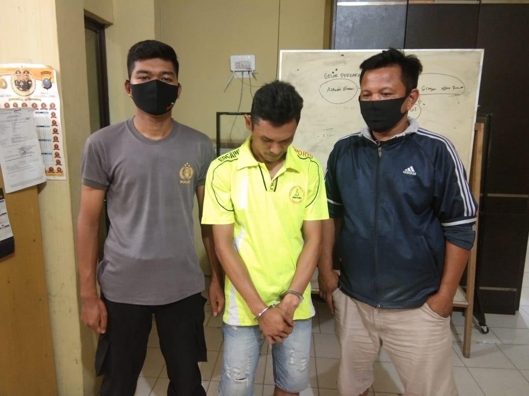 Jual Shabu Kepada Polisi, Candra Ilham Diciduk Sat Res Narkoba Polres Tanjung Balai