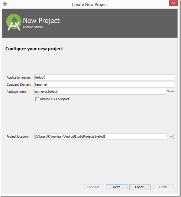 configure-new-android-project