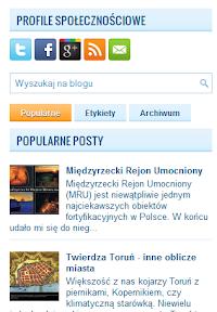 wyszukiwarka i popularne posty