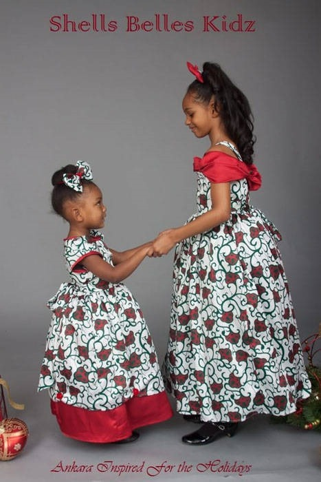 Ankara dresses for children (8)