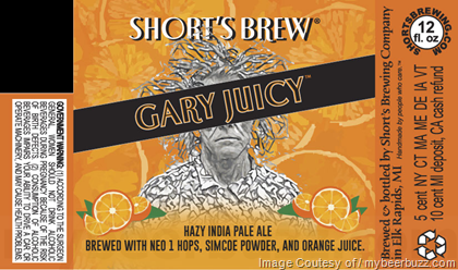 Short's Brewing Gary Juice