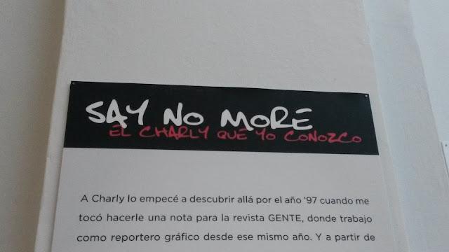 """""""Say no more"""", Charly García por Maximiliano Vernazza, Plataforma Lavarden, Rosario, Argentina, Elisa N, Blog de Viajes, Lifestyle, Travel"""