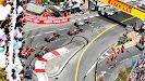 Start of Monaco Grand Prix into 1st corner