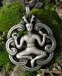 Cernunnos The Horned Celtic God Amulet