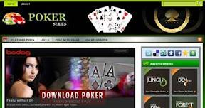 Free Poker Wordpress Theme - PokerSeries