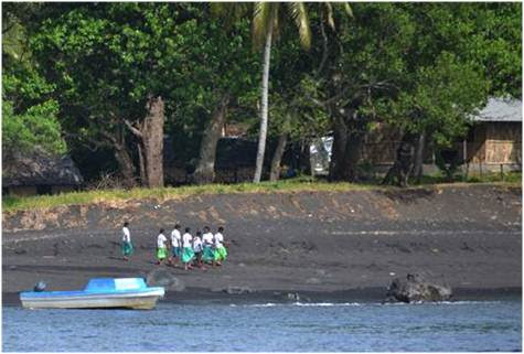 Schoolgirls beach Ranon