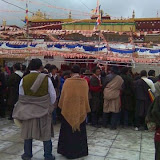 Massive religious gathering and enthronement of Dalai Lama's portrait in Lithang, Tibet. - l14.JPG