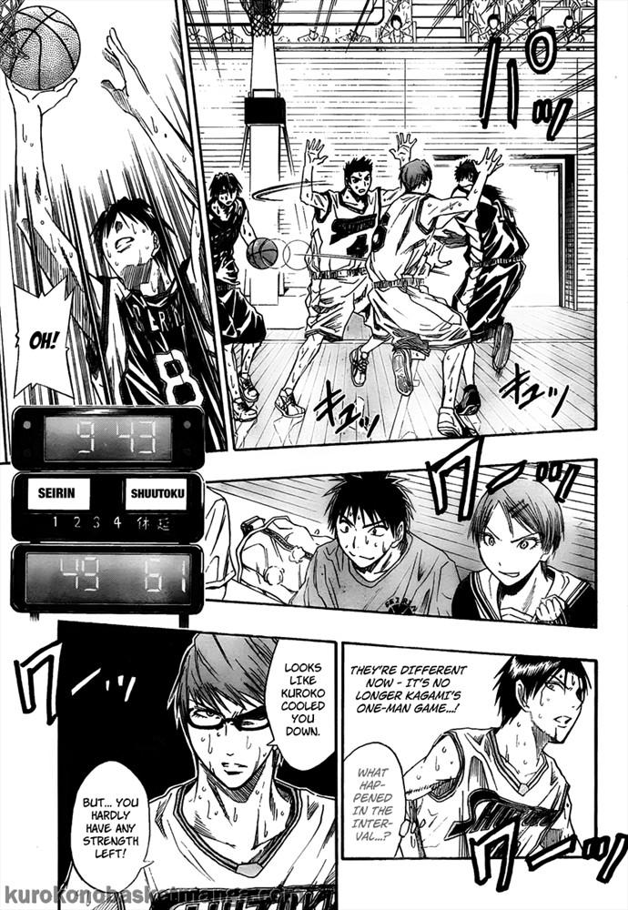 Kuroko no Basket Manga Chapter 33 - Image 05