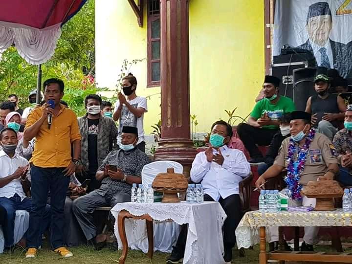 Rajiun La Pili Kampanye, Zahril Baitul Orasi Siap Menangkan Paslon RAPI di Pilkada Muna