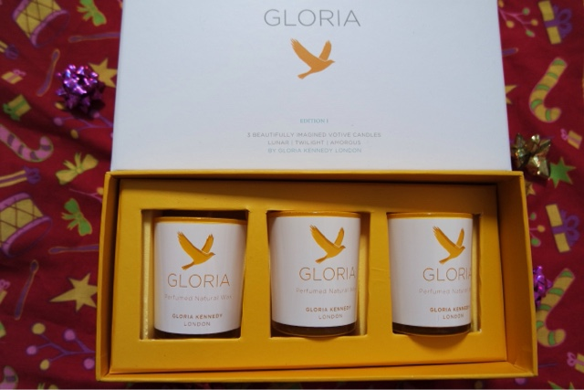 Gloria Kennedy candle gift set