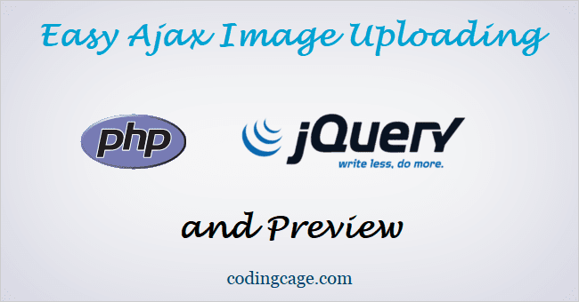 Easy Ajax Image Upload with jQuery, PHP without Page Refresh