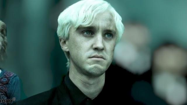 Tom Felton o Draco Malfoy, tem uma pergunta sobre o Crossover de Crepúsculo e Harry Potter
