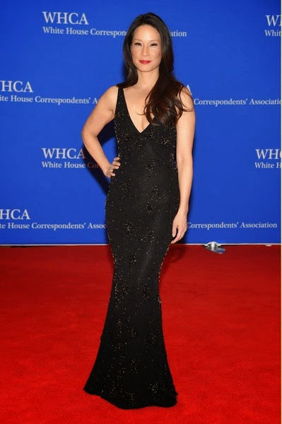Lucy Liu attends the 101st Annual White House