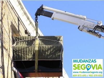 Mudanzas a casas en Segovia
