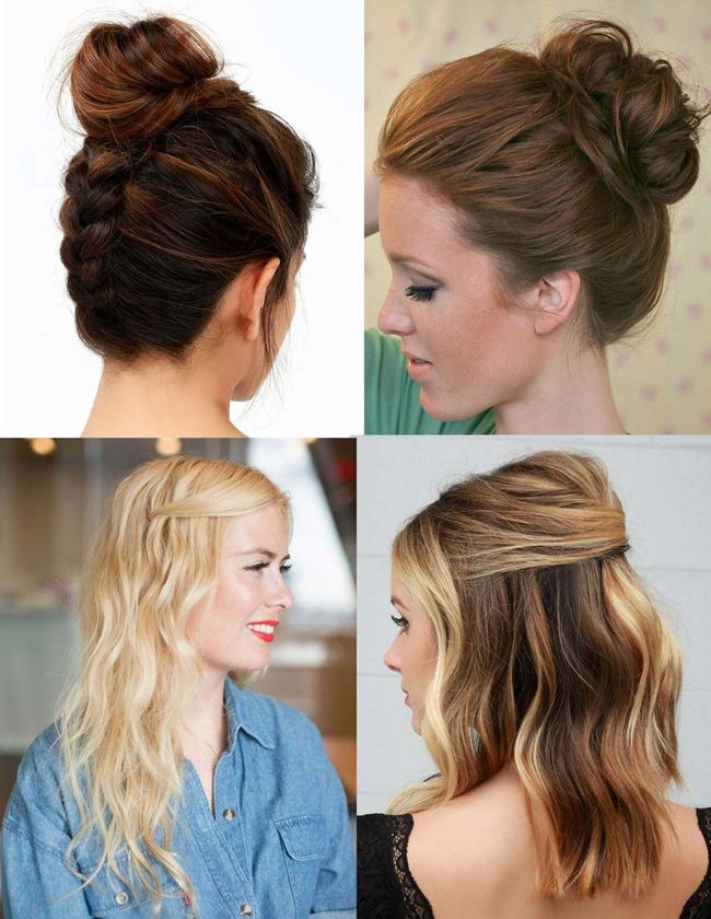 + 25 easy hairstyles 2018-2019 step by step 2