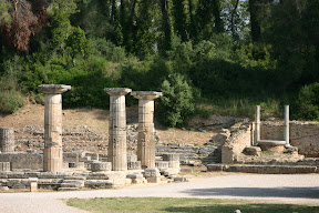 Entrance of the Temple of Hera