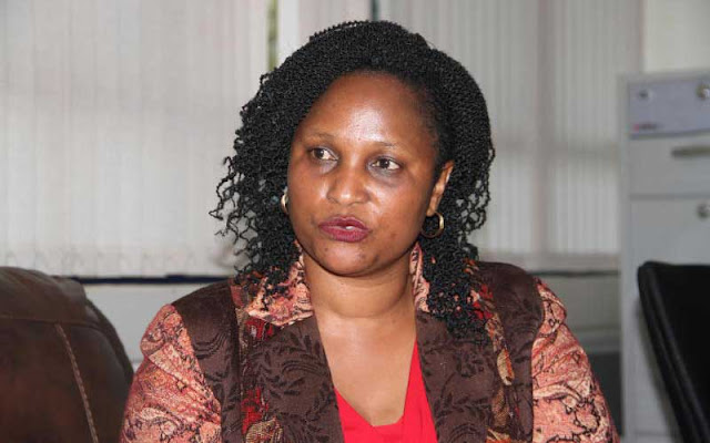 Acting Registrar of Political Parties Anne Nderitu