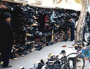 Itaewon shoe market