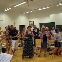 Singwoche 2015 - Proben & Workshops