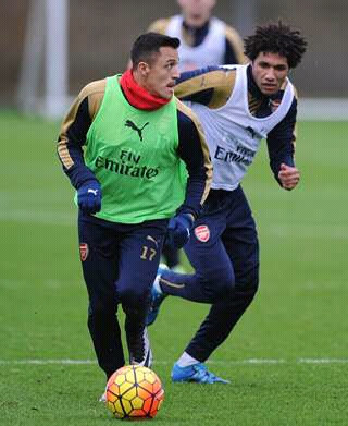 Alexis and Elneny