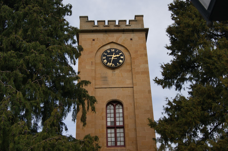 The clock was constructed in 1874 before being given to St Luke's in 1922.