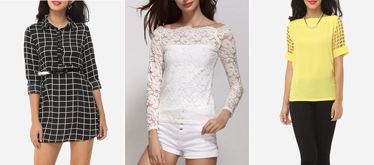 Roupas baratas para mulheres na loja FashionMia