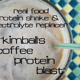 Coffee Protein Blast.