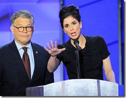 Sarah Silverman You're Being Ridiculous Al Franken