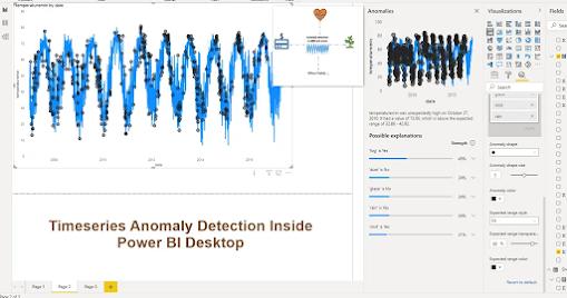 Detectar Anomalías Power BI