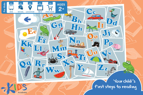 Interactive ABC Letters