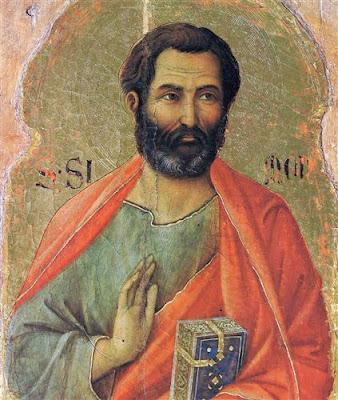 San Simón Apóstol, Duccio (1311)