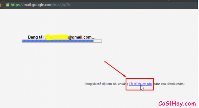 Chuyển gmail sang html cơ bản
