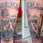 leg cards cars - tattoos for women