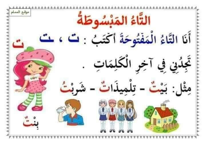 ملخص قواعد اللغة العربية التعليم FB_IMG_1598779254311