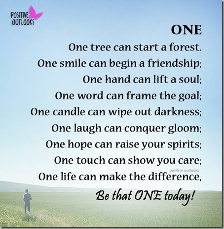 be that one 1
