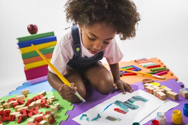 Actividad de aprendizaje preescolar: Estimular la mente de los niños