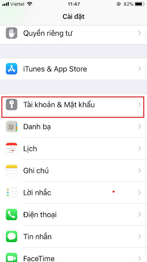 Chuyển danh bạ từ iPhone sang Android