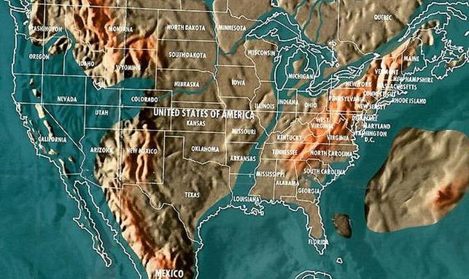 Este mapa confirmado pela NASA mostra como a Elite está se preparando para um próximo evento cataclísmico
